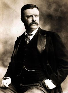 The Most Stylish Presidents: Teddy Roosevelt