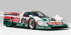 Rare Jaguar race car up for auction!