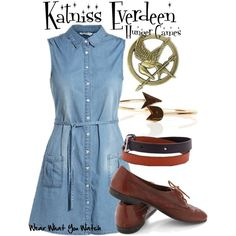 """""""The Hunger Games"""" by kerogenki on Polyvore"""