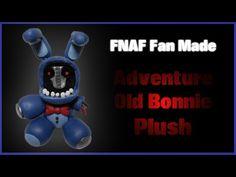 FNaF Fan Made | Adventure Old Bonnie Plush Polymer Clay Tutorial | Porcelana Fria