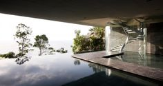 LOOK at that infinity pool...