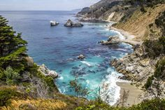 The Ultimate Big Sur Camping Guide-Welcome to Big Sur, the most beautiful stretch of coast in the world. The breathtaking wilderness and amazing views … Small Towns In California, Big Sur California, California Travel, California Living, Travel Oklahoma, Big Sur Hiking, Big Sur Camping, Beach Camping, Rv Camping