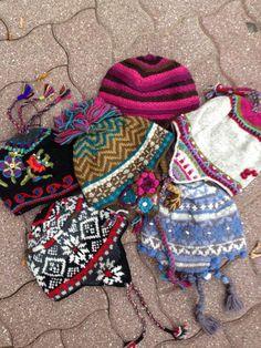 icelandic design knit hats...