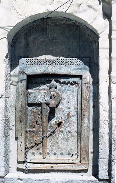 Doorway, Yemen, via Flickr.