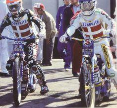 Nielsen and Gundersen at the 1985 World Final