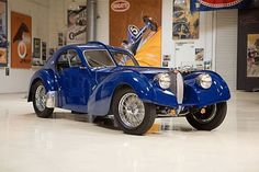Most established driveable Bugatti stops by Jay Leno's Garage