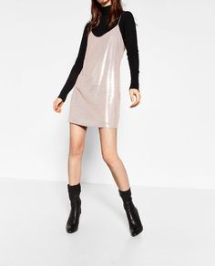 Image 5 of SEQUINNED DRESS from Zara
