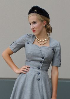 London Coat Dress Sewing Pattern by Sew Chic Pattern Company