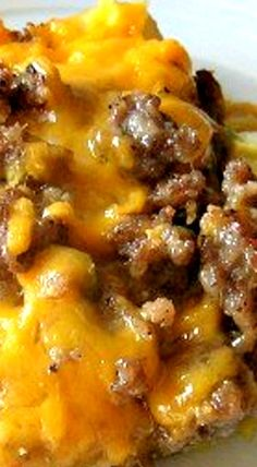 Hash Brown and Sausage Breakfast Casserole ❊