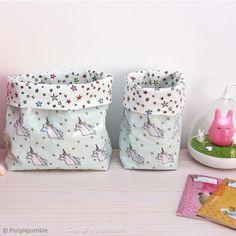 Voici un joli projet couture : Vous apprendrez comment fabriquer un panier en tissu ! Plus de 2500 Tutos et DIY sur Creavea.com- Leader Français du loisir créatif!
