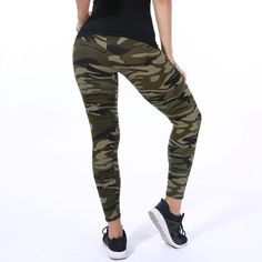 f95961009f646 New Fashion 2018 Camouflage – GaGodeal Camouflage Leggings, Camouflage Pants,  Sports Leggings, Camouflage