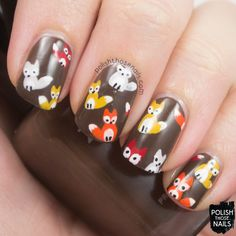 What does the fox say? #manicure #SoCutex