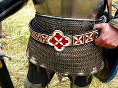 knights belt 14th century - Google zoeken                                                                                                                                                      More