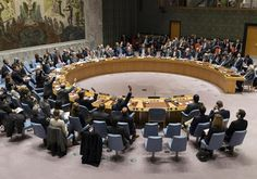 Obama joins the jackals...NY: With US Abstention, UN Security Council passes Resolution condemning Israeli settlements
