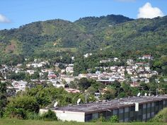 Adjuntas, Puerto Rico.  In 1885 the coffee from Adjuntas was considered to be one of the best coffee in the world.