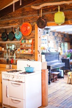 Nancy, Ethan, & Ohle's 1903 Cabin in the Country — House Tour   Apartment Therapy