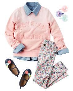 Baby Girl CARAUGUST8F16_CA | Carter's OshKosh Canada