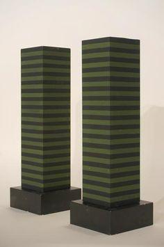 Ettore Sottstass; Painted Wood 'Superbox' Cabinet for Poltronova, 1966.