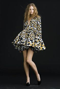 Stine Goya - Danish fashion designer.     I really love this dress.