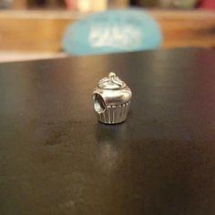 Cupcake pandora bead Great condition never worn. Perfect birthday gift. Pandora Jewelry Bracelets