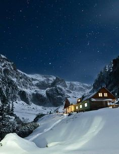 Malaiesti Cottage by Branding Prahova on Romania Facts, Places To Travel, Places To Visit, Still Of The Night, Visit Romania, Carpathian Mountains, Winter Wallpaper, Winter Scenery, Backpacking Europe