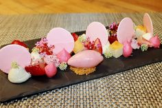 Pink Sweetness by Pastry Chef Antonio Bachour