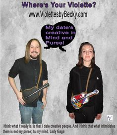Cool gifts for him and for her - Unique Valintines Day gifts at www.ViolettesbyBecky.com
