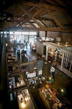 Mercados gastronomicos  Melrose Market en Seattle, Washington.