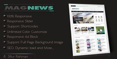 Download Free              MagNews - Responsive Blogger Template            #               blogger #clean #custom #disqus #dynamic #layout #magazine #news #seo #shortcode #slider