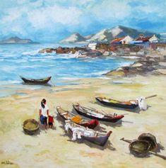 Sea view  by Vietnamese Artist Lam Manh