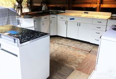 Boxed up for 67 years and now set free: Brand new 1948 Youngstown Kitchen…