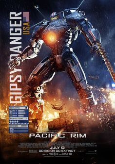 Pacific Rim poster : Gypsy Danger