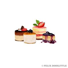 Cakes | Felix Doolittle Illustrations