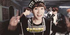 BTS Bangtan Boys   Suga: No I think you're a cinnamon roll. A rapping, sugary,cinnamon roll.