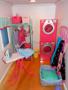 American Girl Doll Play: Amazing American Girl Doll House! Sooooo amazing!