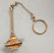 Victorian Skirt Lifter Gold Filled