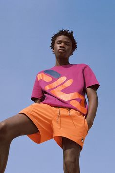 FILA Commits to Vibrant Colors & Archival Graphics This Spring
