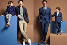 All the latest men's fashion lookbooks and advertising campaigns are showcased at FashionBeans. Click here to see more images from the Carl Gross Spring/Summer 2017 Men's Lookbook Carl Gross, Latest Mens Fashion, Men's Fashion, Dad Son, Family Album, Advertising Campaign, Suit Jacket, Menswear, Spring Summer
