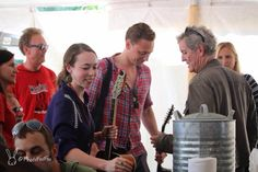 Tom Hiddleston at Wheatland music festival 2014 by Photofoofoo