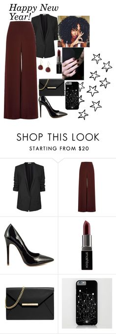 """Happy New Year Everyone!!!"" by mariamalik2001 ❤ liked on Polyvore featuring Helmut Lang, River Island, Shoe Republic LA, Smashbox, MICHAEL Michael Kors and Karen Kane"