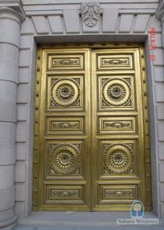 ornate decorative #door - Madrid
