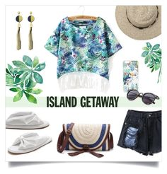 """""""Chic Island Getaway"""" by mahafromkailash ❤ liked on Polyvore"""