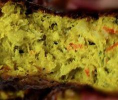 bolinho de abobora com alho poro e bacalhau dukan