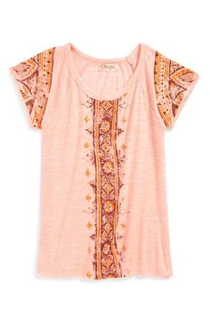 Miss+Me+Graphic+Tee+(Big+Girls)+available+at+#Nordstrom