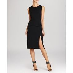 BCBGMAXAZRIA Dress - Megaen Side Lace