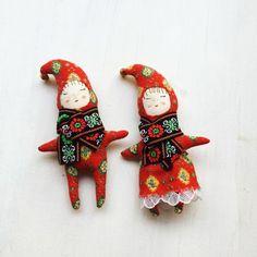 modflowers: Christmas pixie dolls