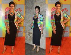 Deepika Padukone jacket on dress
