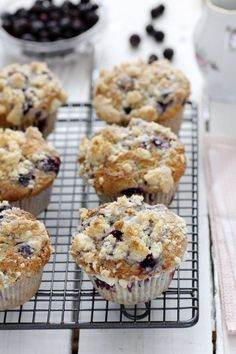 Starbucks Copycat Blueberry Muffins