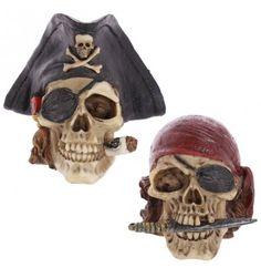Halloween Party Décoration Assortiment de 2 Ghoulish Crâne Cintres-Noir /& Blanc