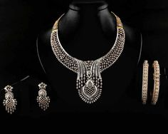 Manik Chand Jewellers Indian Jewellery Design, Jewellery Designs, Indian Jewelry, Lotus Jewelry, Gold Jewelry, Jewelry Necklaces, Diamond Jewellery, Diamond Necklaces, Jewelry Drawing